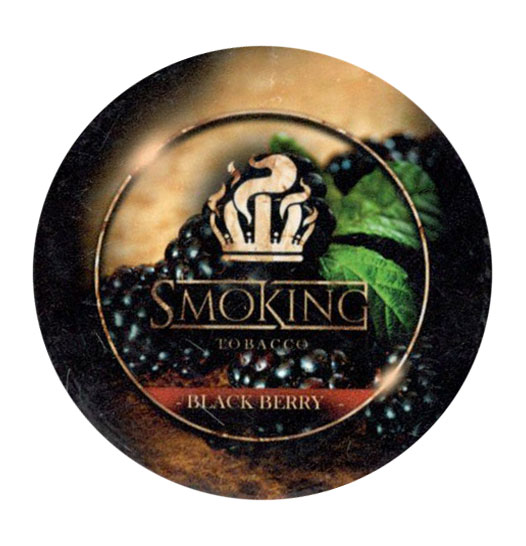 Табак Smoking - Ежевика (Black Berry) фото